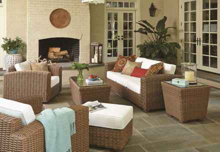 Monaco Outdoor Wicker Collection