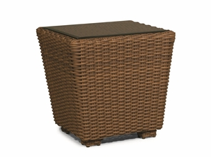 Monaco Outdoor Wicker End Table