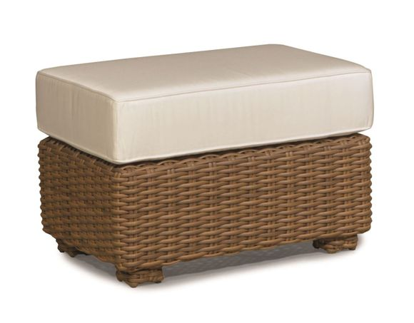 Monaco Outdoor Wicker Ottoman