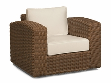 Monaco Outdoor Wicker Swivel Chair