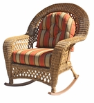 Outdoor Wicker Rocker - Montauk