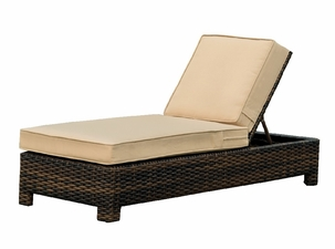 Napa Outdoor Wicker Chaise Lounge