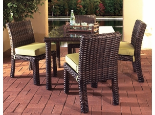 Napa Outdoor Wicker Dining Set Of 5