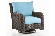 Napa Outdoor Wicker Swivel Glider