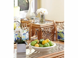 Nassau Rattan End Table