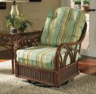 Naples Rattan Swivel Glider Chair