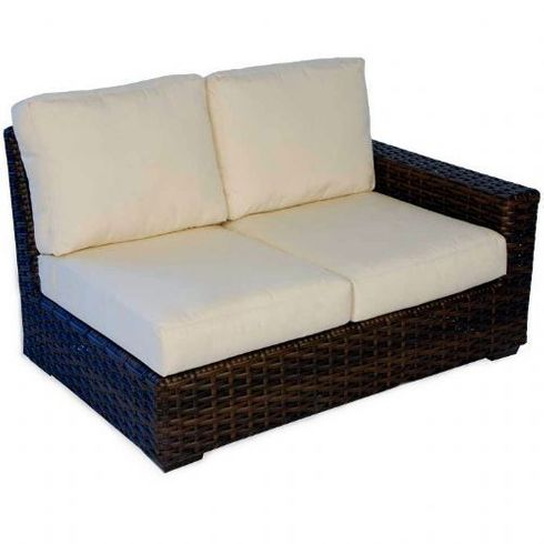 Lloyd Flanders Contempo Left or Right Arm Sectional Loveseat Replacement Cushions