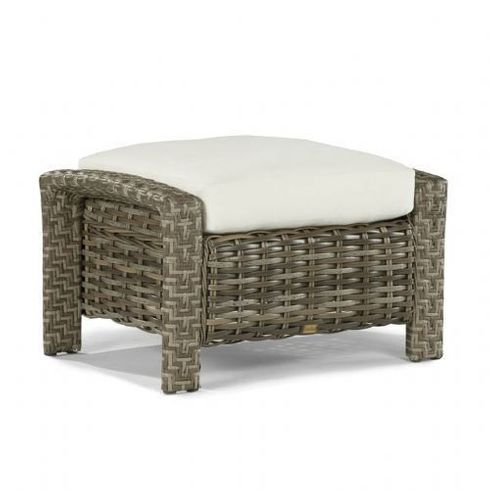 Lane Venture St. Simons Outdoor Wicker Ottoman - USE COUPON CODE LANE FOR 50% OFF