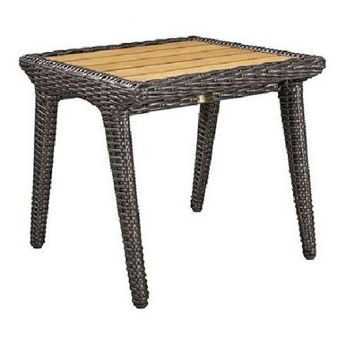 Lane Venture Cooper Outdoor Wicker End Table:USE COUPON CODE LANE FOR 50% OFF