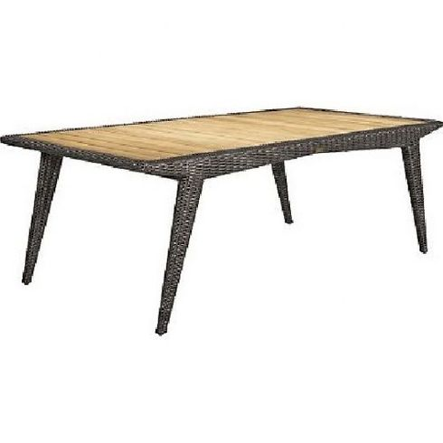 Lane Venture Cooper Outdoor Wicker Rectangular Dining Table :USE COUPON CODE LANE FOR 50% OFF