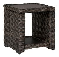 Grasson Outdoor Wicker End table