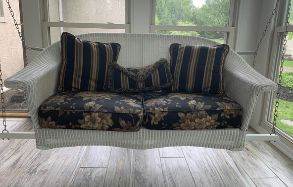 Lloyd Flanders Front Porch- Porch Swing Bottom Cushions Only