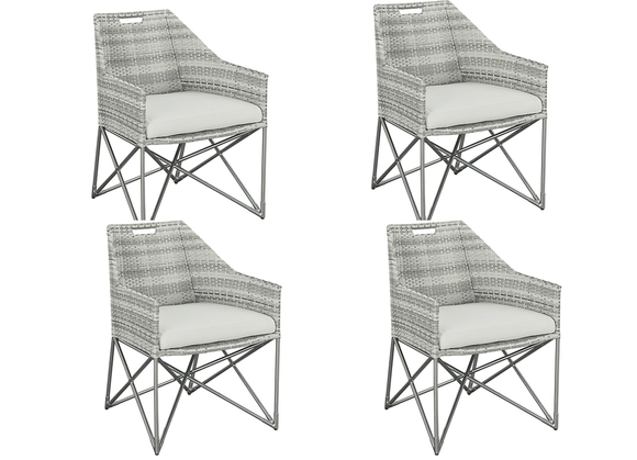 Lane Venture Jewel Dining Chairs- Set of 4 - USE COUPON CODE LANE FOR 50% OFF