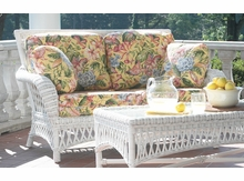 Norcross Wicker Loveseat