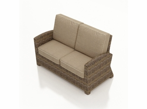 North Cape Wicker Bainbridge/Cabo Loveseat Cushions