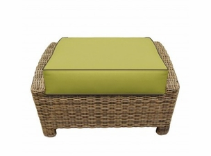North Cape Wicker Bainbridge/Cabo Ottoman Cushion