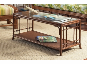 Oak Brook Rattan Coffee Table