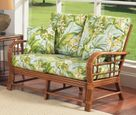 Oak Brook Rattan Loveseat