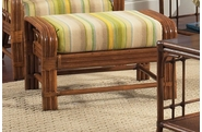 Oak Brook Rattan Ottoman