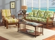 Oak Brook Rattan Sofa
