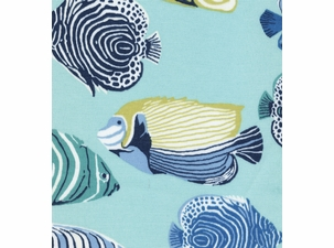 Ole Fish Tail: Indoor/Outdoor Fabric