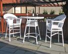 Outdoor Wicker Bar Set -Not Available