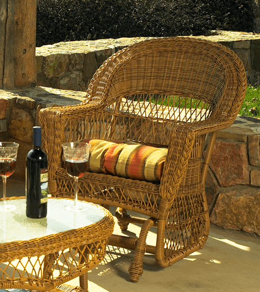 Outdoor Furniture Repair Deer Park Ny: Outdoor Wicker Chair Glider