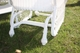 Outdoor Wicker Chair Glider: Cape Cod Style