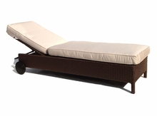 Outdoor Wicker Chaise - Sonoma Hurry only 3 left