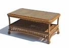 Outdoor Wicker Coffee Table - Montauk Shown in Natural