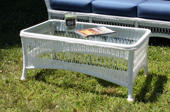 Outdoor Wicker Coffee Table - Princeton