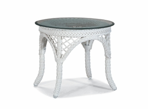 Outdoor Wicker End Table - Savannah