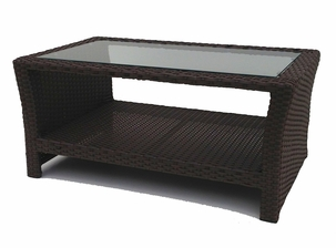 Outdoor Wicker Inset Coffee Table-sold out
