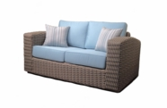Outdoor Wicker Loveseat - Monaco sold