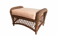 Outdoor Wicker Ottoman - Savannah