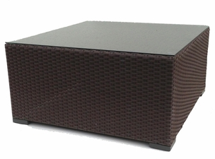 Outdoor Wicker Sectional Coffee Table