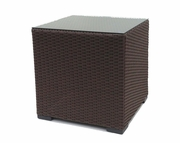 Outdoor Wicker Sectional End Table