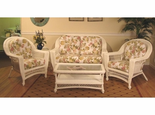 Outdoor Wicker Set - Cape Cod Deep Seating