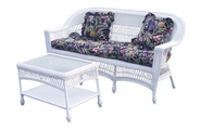 Outdoor Wicker Sofa: Cape Cod-