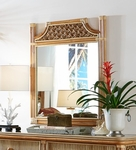 Palm Bay Rattan Mirror