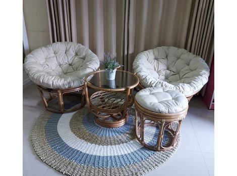 Papasan Rattan Collection in stock ships in days
