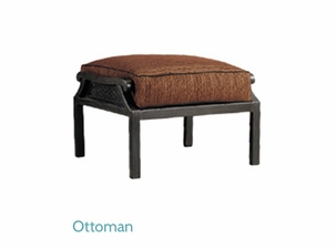 Patio Renaissance Venice Ottoman Replacement Cushion