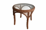 Patio Wicker End Table - Charleston Collection