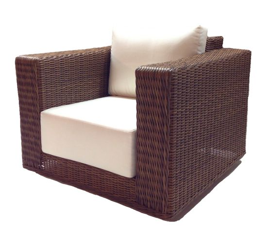 Outdoor Wicker Swivel Chair - Santa Barbara