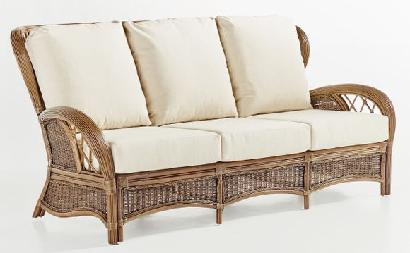 Pensacola Wicker Sofa