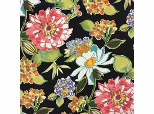 Pierette Licorice: Indoor/Outdoor Fabric