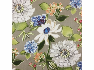 Pierette Pewter: Indoor/Outdoor Fabric