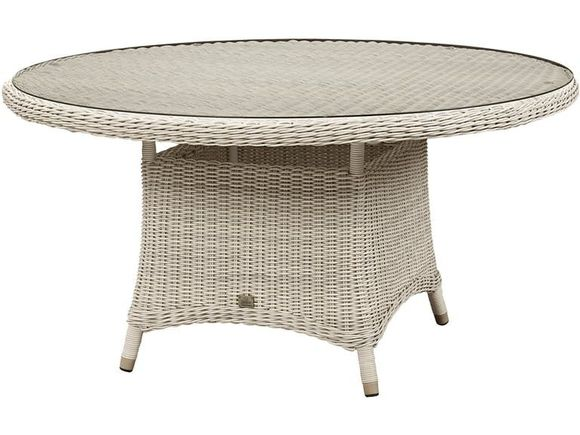 Provence  59 inch Outdoor Wicker Dining Table