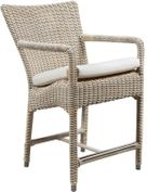 Provence Outdoor Wicker Bar Stool