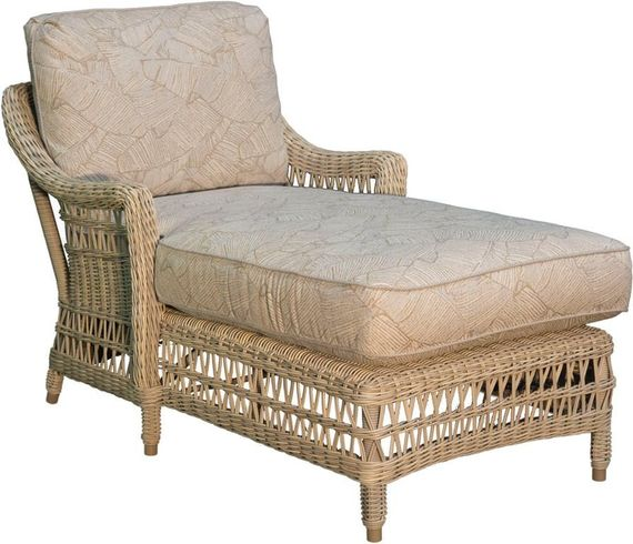 Provence Outdoor Wicker Chaise